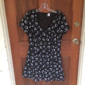 Cute romper mini dress